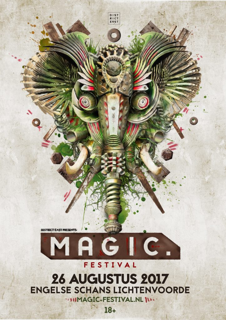 50% line-up Release Magic Festival