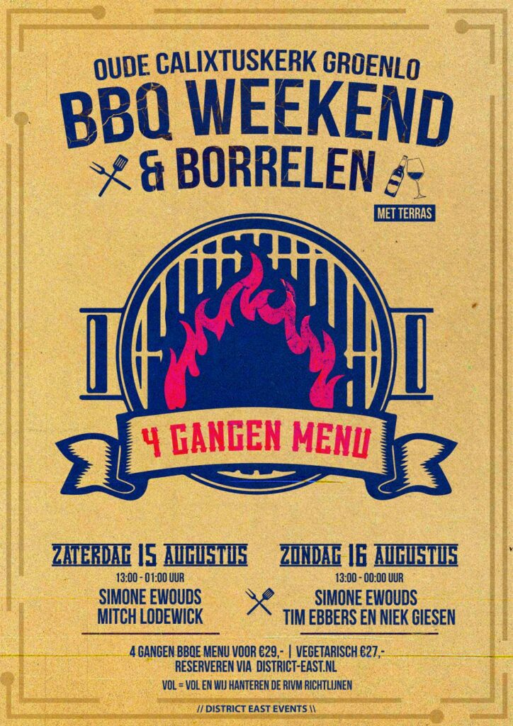 BBQ Weekend 🍗🥩🍔 & Borrelen 🍺🍹