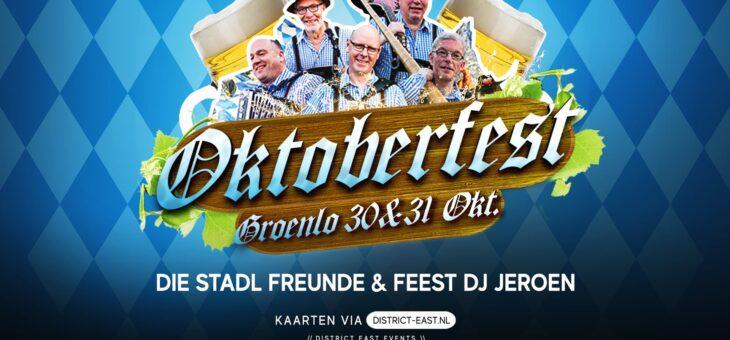 Oktoberfest Groenlo 30 & 31 oktober 2020