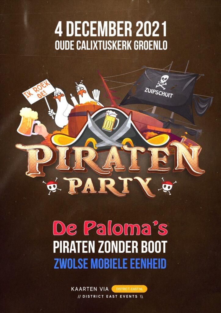Piraten Party in de kerk