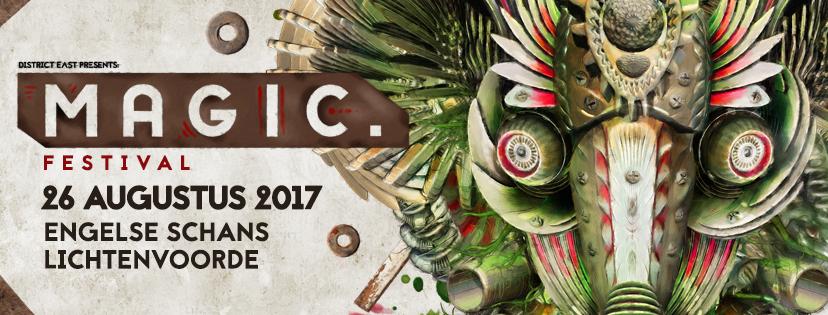 Magic Festival naar de Engelse Schans te Lichtenvoorde