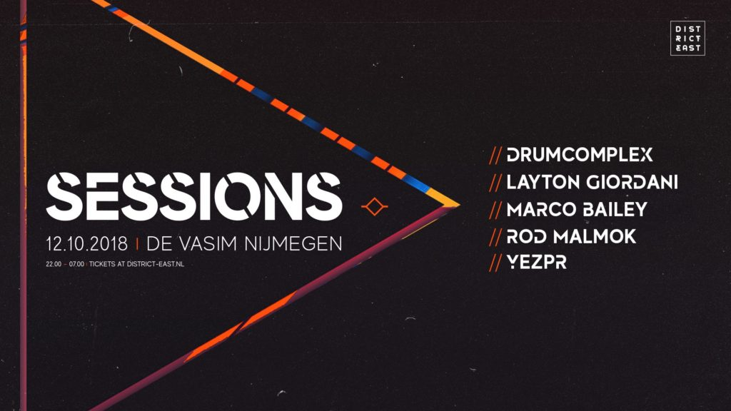 Sessions: a new techno event by District East Events