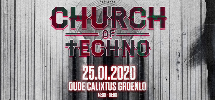 Bekijk hier de teaser van Magic Festival presents: † Church of Techno †