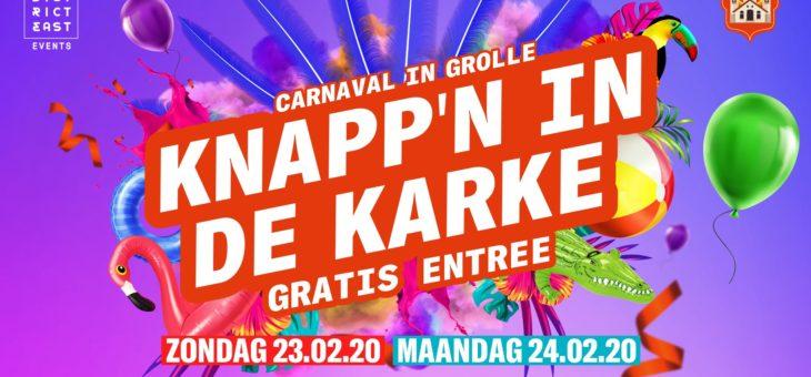 Carnaval | Knapp'n in de Karke 23 en 24 februari