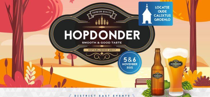 Reserveer hier voor Hopdonder 5 & 6 november!